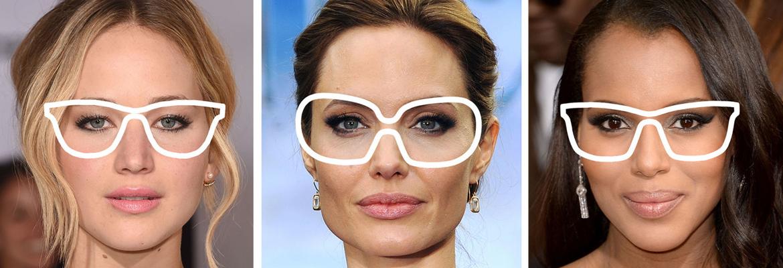Σωστη επιλογη γυαλιων ορασεως αναλογα με το σχημα προσωπου dc339de3627